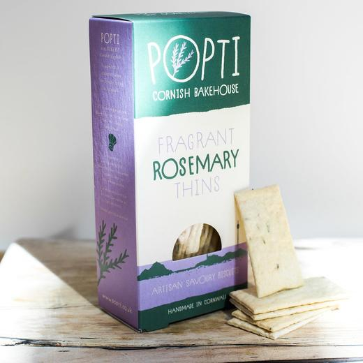 Popti Rosemary Savoury Thins