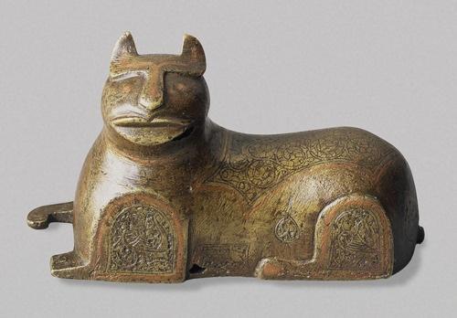Persian cat figure 12-13th C cat in persia, History of the cat in persia