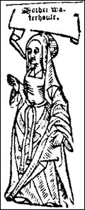 Agnes Waterhouse First person to be executed for witchcraft 1566, cats