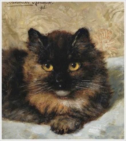 A Little Kitten Henriette Ronner-Knip 1896 Private Collection