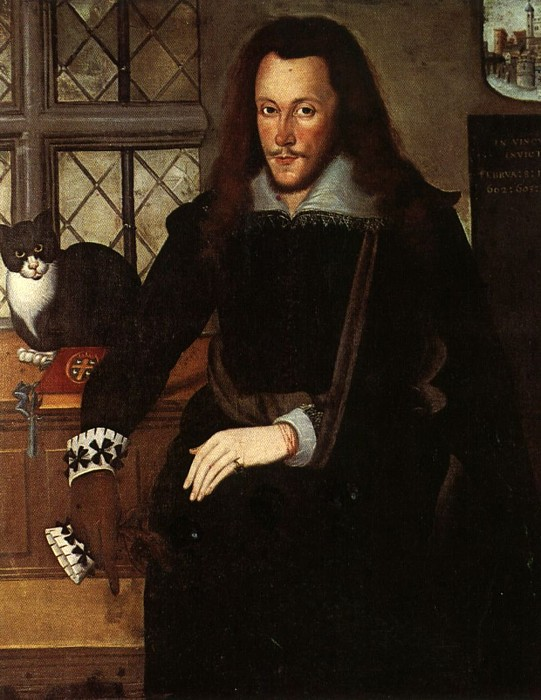 Henry Wriothesley and Trixie 1603 Broughton House, Northamptonshire