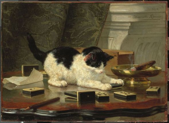 Katjespel Henriette Ronner-Knip 1878 Private Collection