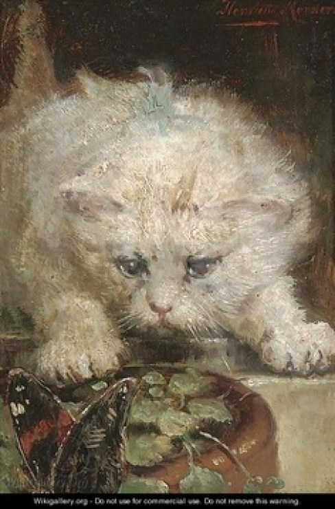 On the Prowl Henriette Ronner-Knip Private Collection
