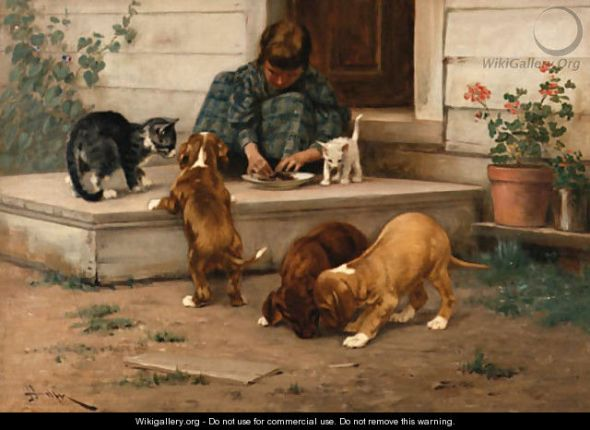 Feeding Puppies and Kittens Private Collection