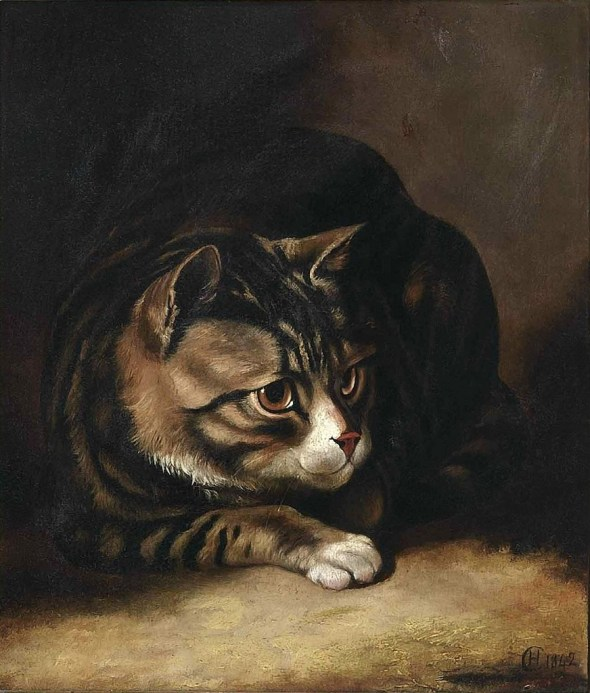 Tabby Cat Horatio Henry Couldery Private Collection