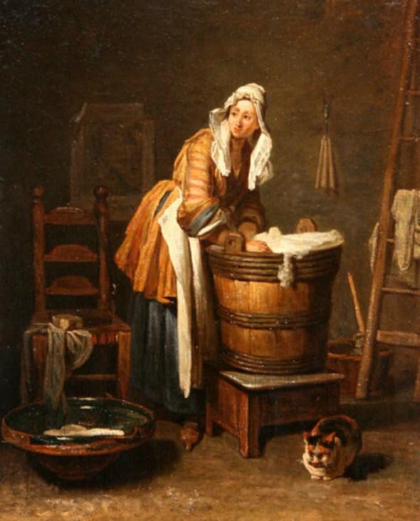 The Washerwoman Jean Baptiste Simeon Chardin 1735 Toledo Museum of Art