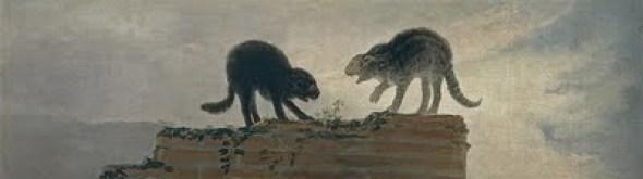 Rina De Gatos Francisco Goya, cats in art