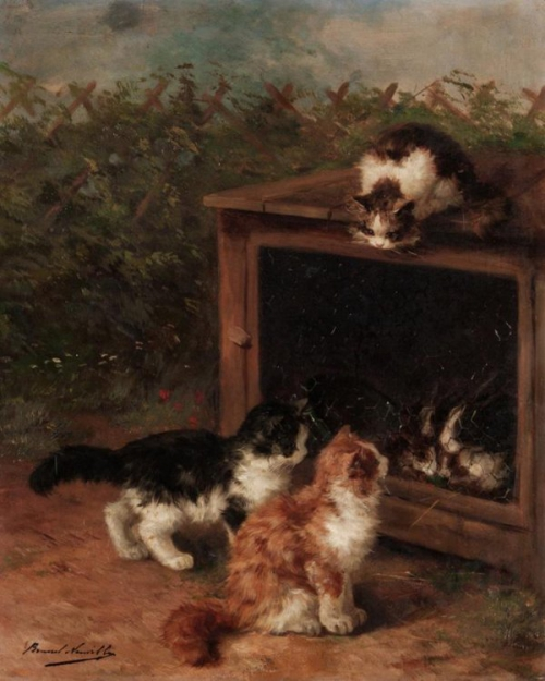 Naughty Kittens Brunel de Neuville
