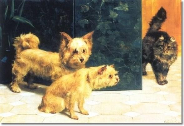 The Intruder, Charles Van den Eycken Private Collection