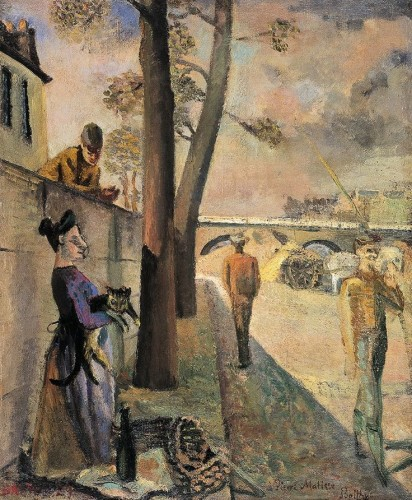 The Quays 1929 Balthus and Cats