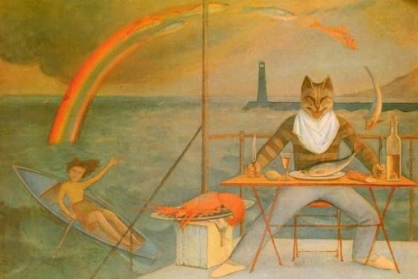 The Mediterranean Cat 1949 Balthus Cats