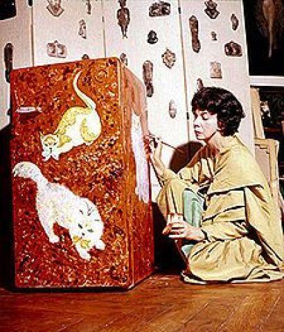 Leonor Fini cat paintings