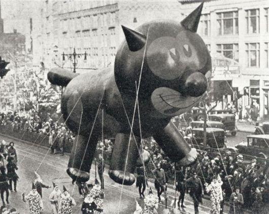 Felix the Cat Balloon Macy's Thanksgiving Day Parade New York