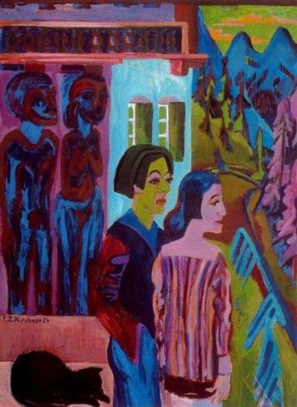 Kirchner Before the Dawn 1924-26