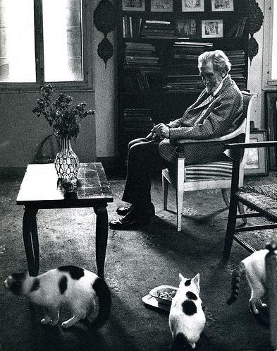 Ezra Pound, cats, T.S. Eliot's Cats