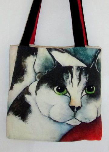 art bag - Cat people, Carla Raadsveld