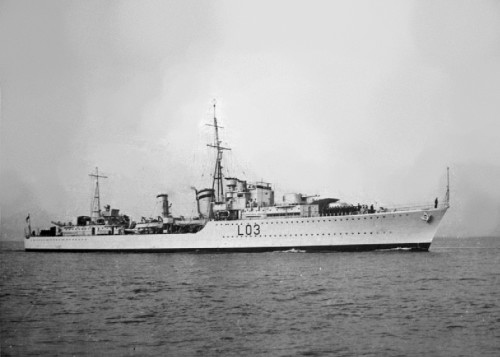 HMS Cossack, cats in war, ships cats, cats in WWII, Unsinkable Sam