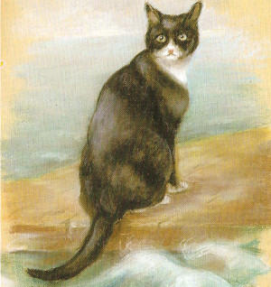 Unsinkable Sam Georgina Shaw-Baker UK National Maritime Museum, Greenwich, cats in war