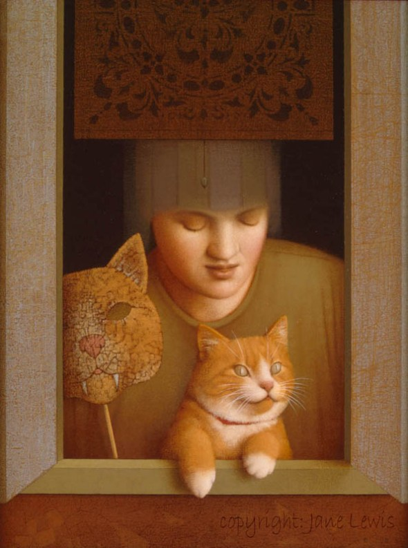 Jane Lewis, Tybert the Cat, art cats