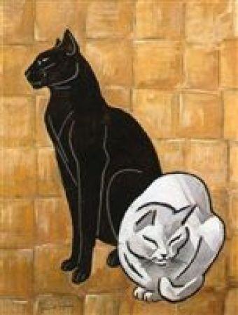 Le chat noir et le chat blanc 1920-1925