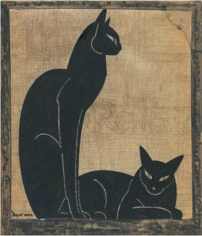 Two Black Cats 1920-1925, Lehmann Nam