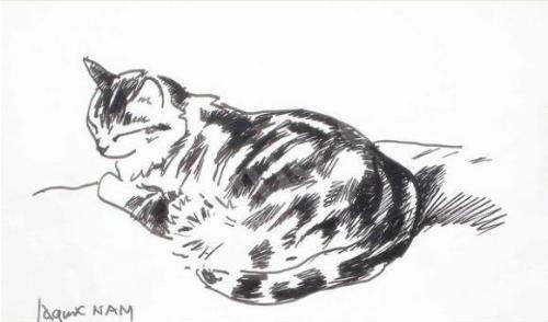 Cat Love, french cat artists