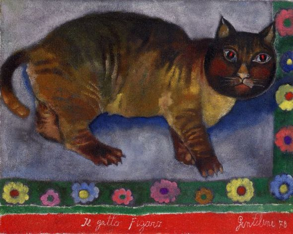 Gentilini The Cat Figaro 1978