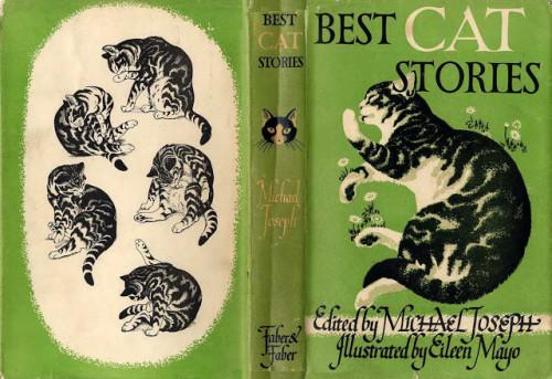 Best Cat Stories, illustrator Eileen Mayo 1942