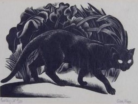 Eileen Mayo, Prowling Cat 1932