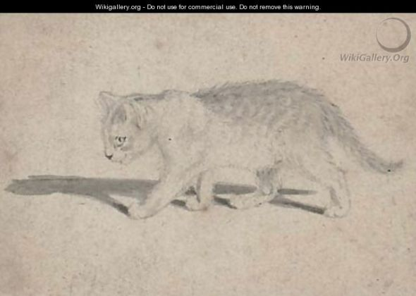 Gottfried Mind, cat sketch