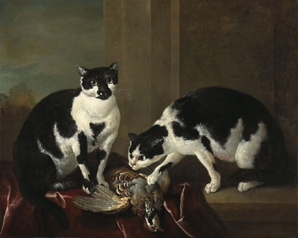 Jean-Baptiste Oudry two cats 1725