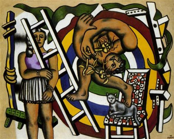 Fernand Leger The Acrobat and His Partner 1948