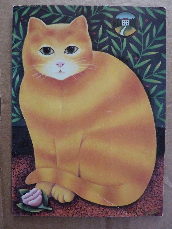Fat Orange Cat, Martin Leman