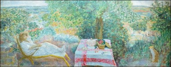 La Sieste au Jardin A Nap in the Garden 1914, P. Bonnard