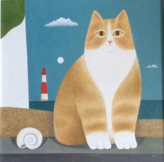 Lighthouse Cat, Martin Leman