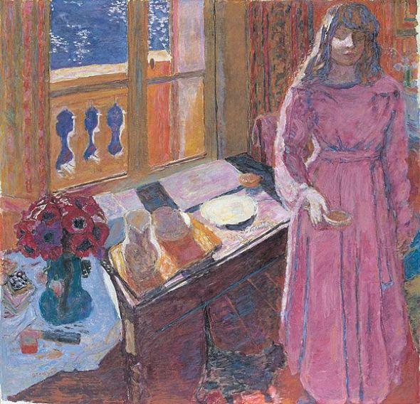Pierre Bonnard (Francia, 1867-1947). Le Bol de lait, 1919, Bowl of Milk