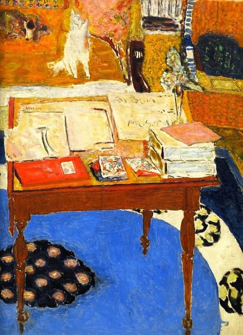 Pierre Bonnard (Francia, 1867-1947). The Work Table, 1926.