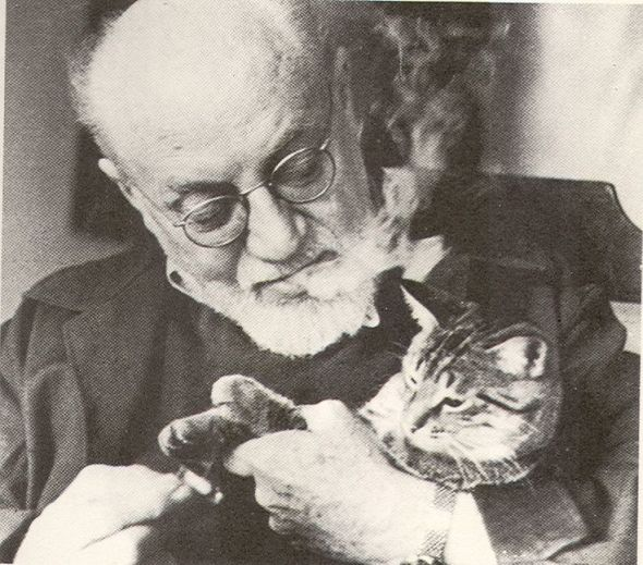 Matisse and Cat