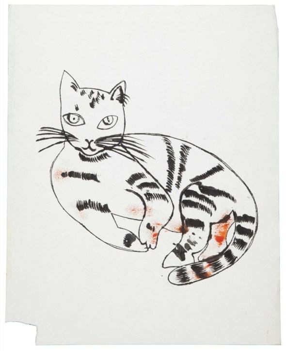Andy Warhol, sketch Sam