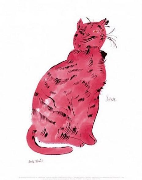 Andy Warhol, Pink Sam 1954