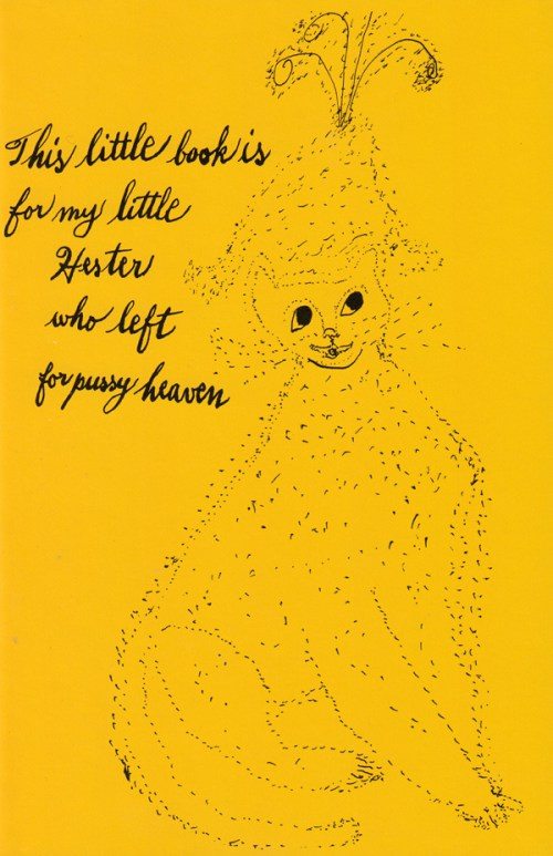 Holy Cats, Julia Warhola 1
