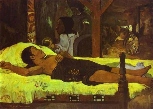 Nativity 1896, Paul Gauguin