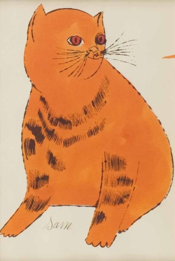 Andy Warhol, Orange Fat Sam