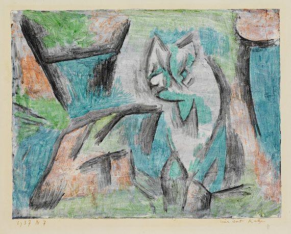 Eine Art Katze (A kind of cat), 1937