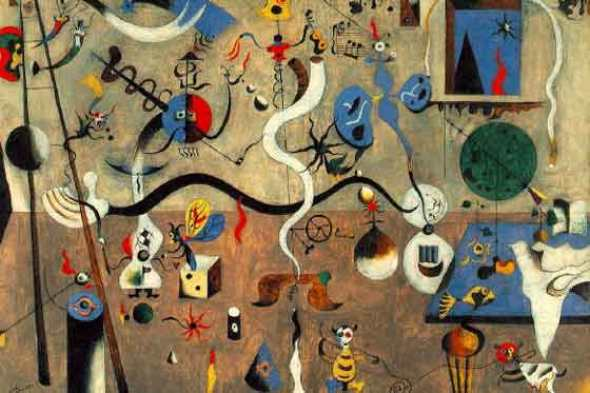 Harlequin's Carnival, 1925, Joan Miro