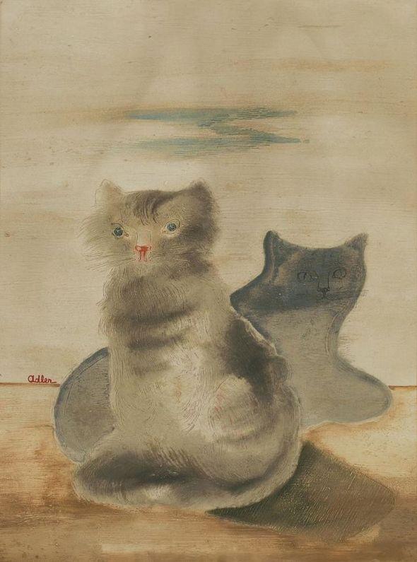Jankel Adler, Cats