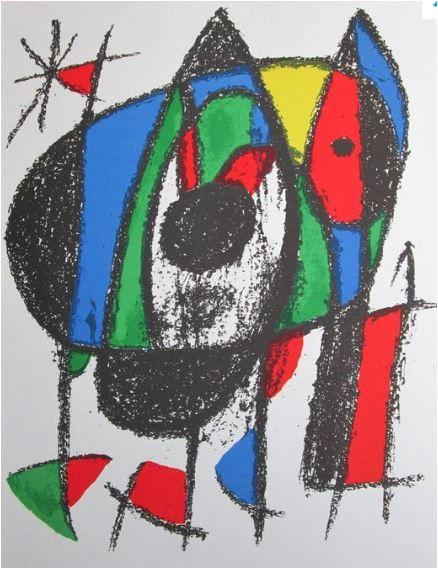 Le Chat qui s' ègare, Joan Miro