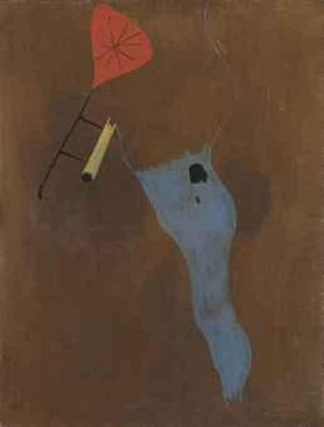 Le chat et la ficelle, Joan Miro