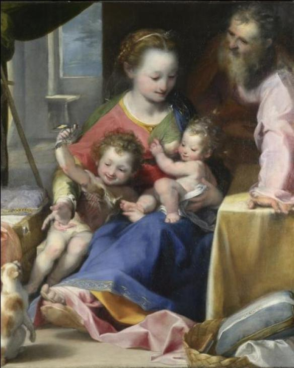 Holy Family or Madonna of the Cat, Federico Barocci