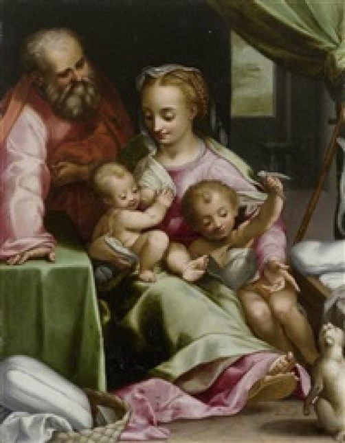 Federico Barocci Holy Family with Cat